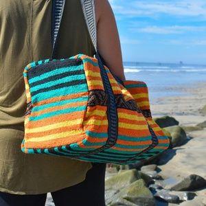 Boho Weekender Travel Bag / Duffel Bag